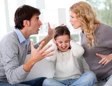 Svadja u prisustvu deteta