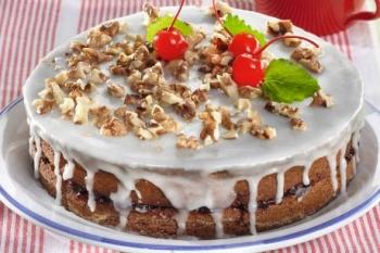 torta sa bademom i orasima