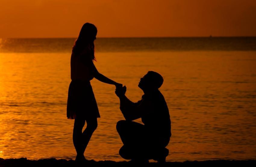 gde zaprositi devojku