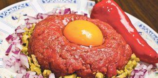 Tartar biftek