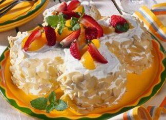 vocna torta od nara badema i marcipana