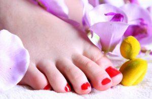 Lepa i negovana stopala